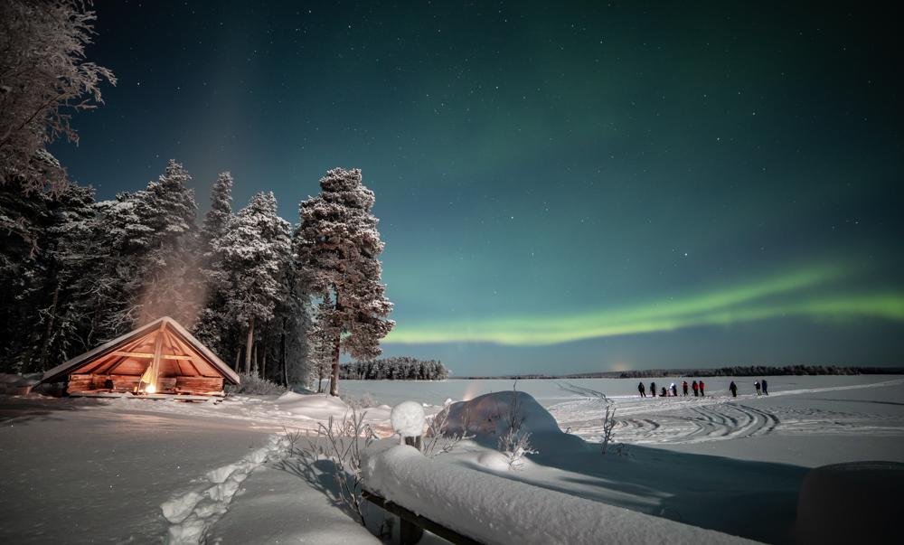Aurora hunting in Lapland - Rovaniemi Finland