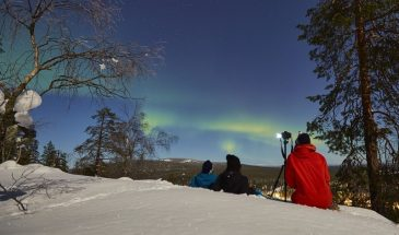 Aurora hunting in Pyhä Luosto - Lapland
