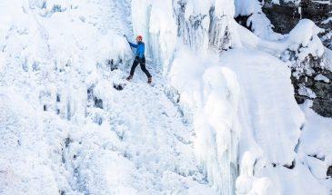 Climbing in pyhä