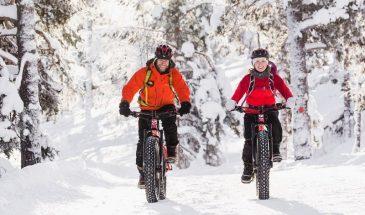Electric Fatbike Tour to Pyhä-Luosto National Park , Lapland