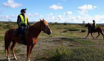 Fell Lapland on horseback Kittilä Lapland