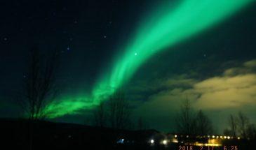 Golden Aurora hunting in Saariselkä, Inari lapland