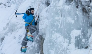 Kid's Ice Climbing Adventure in Pyhä-Luosto