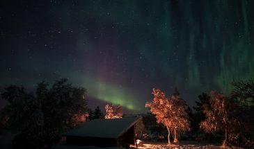 Polar life - aurora Saaiselkä Inari