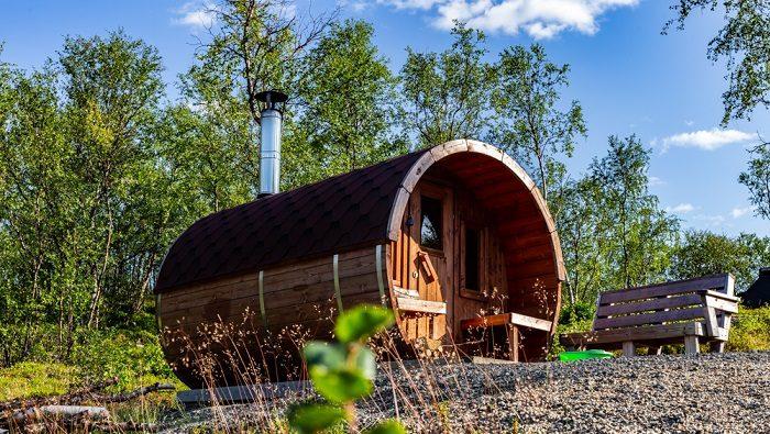 Sauna in Utsjoki Lapland, Finland