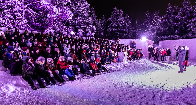 Skábmagovat indigenous film festival Inari lapland