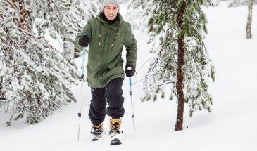 Skiing in pyhä- Luosto Lapland