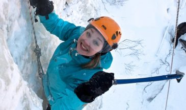 Try Ice Climbing in Luosto