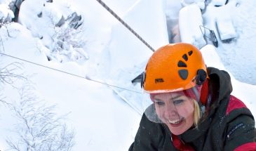 Try Ice Climbing in Pyhä