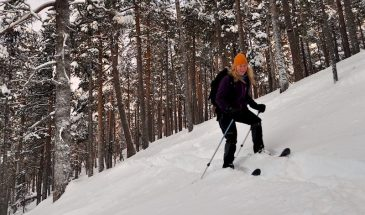 Winter Adventure on Skis