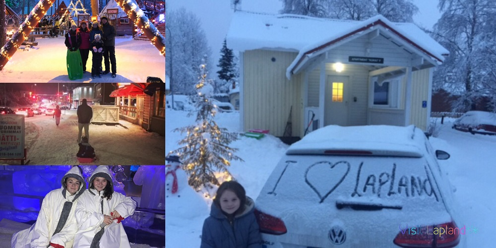 lapland on a budget Family travel in Rovaniemi Finland