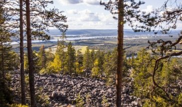 Aavasaksa fell ylitornio in Finnish Lapland