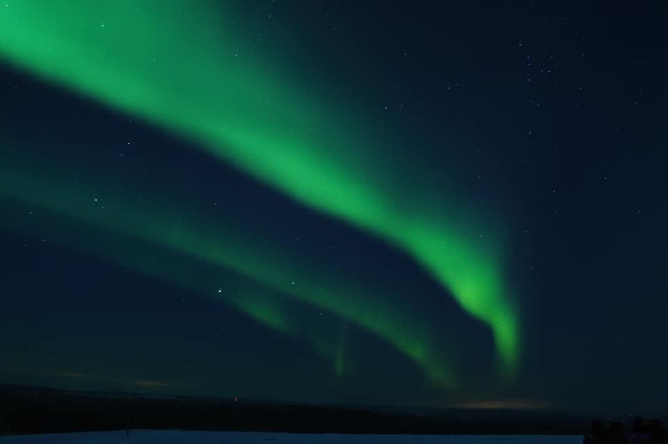 Aurora in Saariselkä Inari Ivalo Lapland