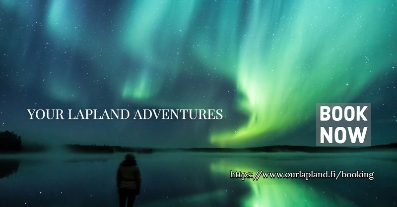 Book your Lapland activities from our lapland website booking