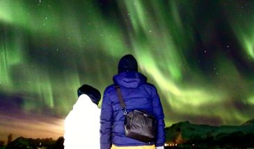 Northern Lights Chasing in Lofoten with a Photographer in Norway mountains aurora magic