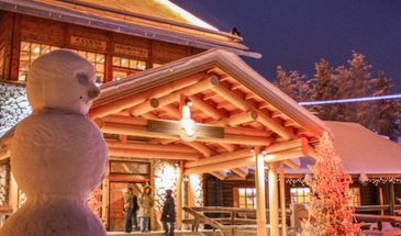 Santa Claus village tour by Helios Rovaniemi Arctic circle