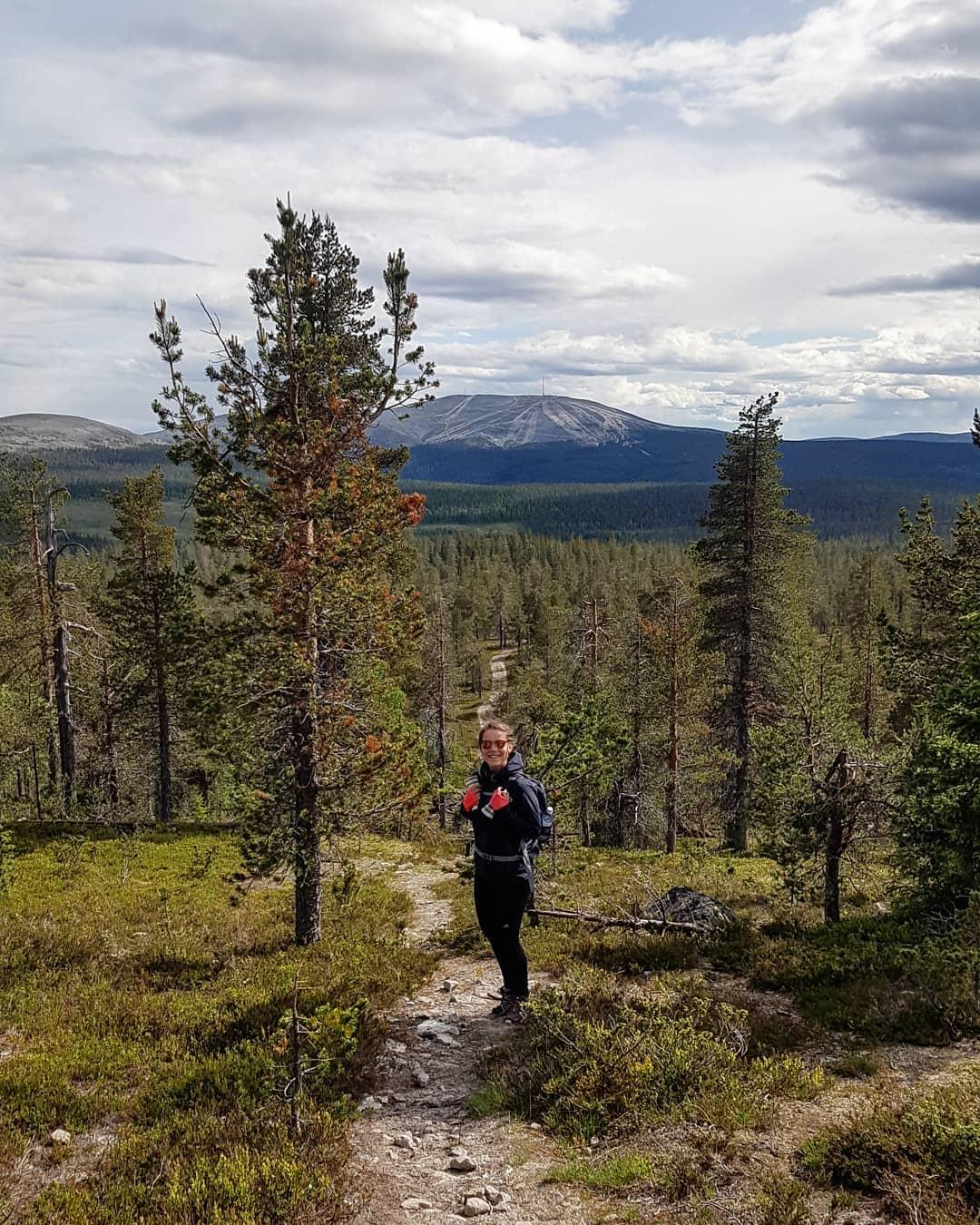 Minna ylläs Fell Lapland äkäslompolo FInland