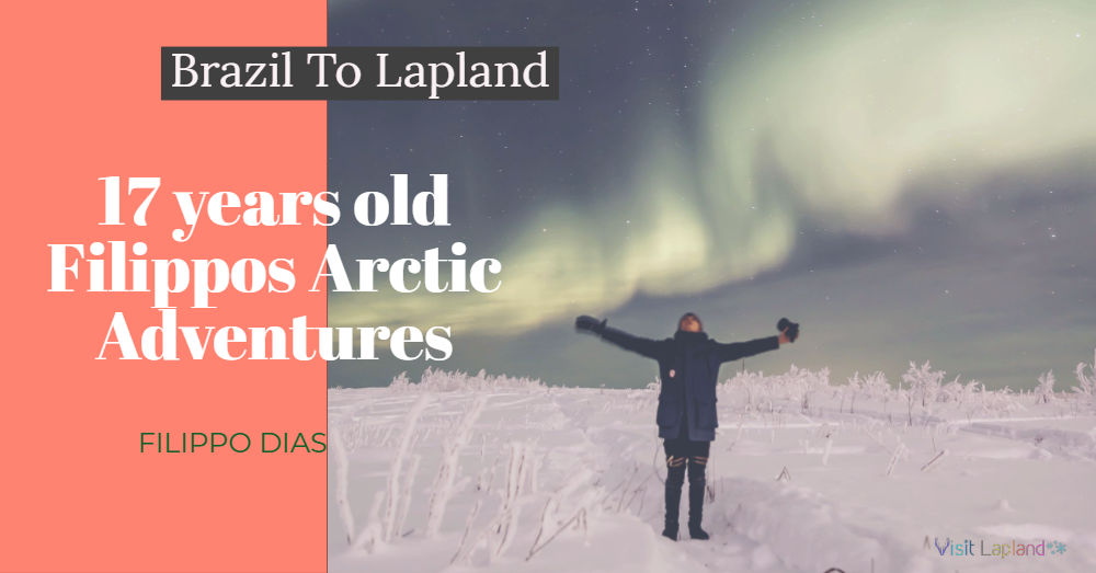Arctic Adventure of Filippo Dias in Finnish Lapland/ Visit Lapland