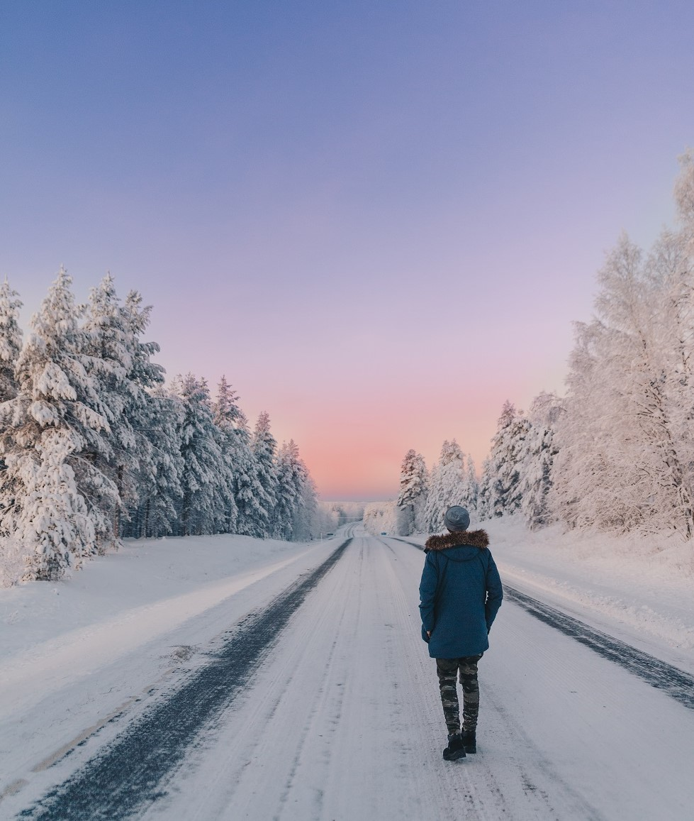 Filippo Dias- From Brazil to Lapland- Polar nights experience and winter snowy road in Finland