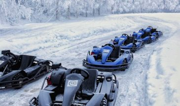 Active Combo: Karting on Ice, Snowmobile Safari with Ice Fishing and Picnic