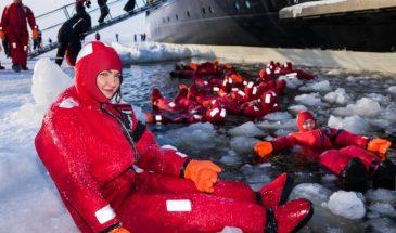 Snowmobile safari to Icebreaker Sampo 4 hr cruise