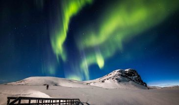 Private Northern Lights tour Beyond Arctic Finland- Visit lapland