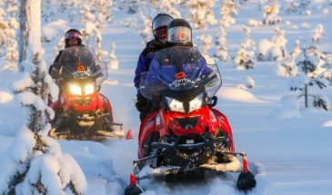 To the Kingdom of Snow and Ice – Full day snowmobile safari to ice hotel