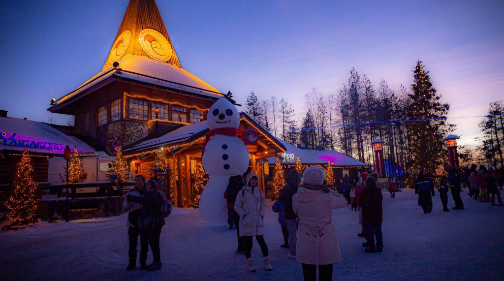 Christmas mood in Santa Claus Village - Finland- Rovaniemi Finland - Visit Lapland Pic- Jasim Sarker