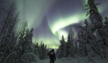 Aurora Hunting Tour- Rovaniemi Lapland northern lights Finland