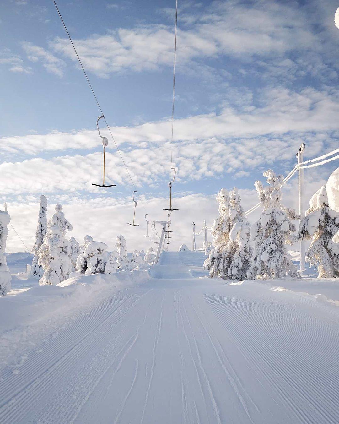Iida aletta ski instructor in Salla Lapland Finland Winter landscape in Fnnish Lapland - Visit Lapland blog