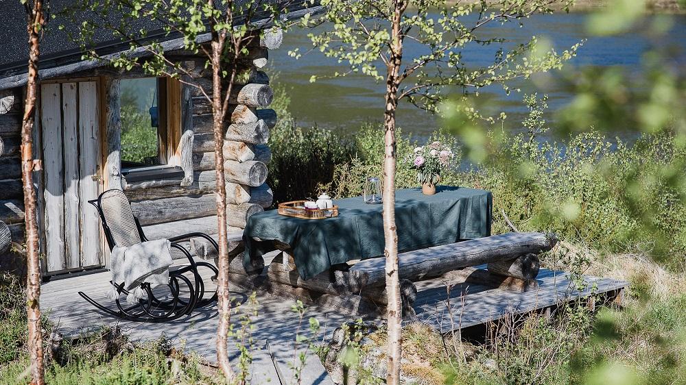 visit Utsjoki Tenojoki summer in Lapland Finland authentic life