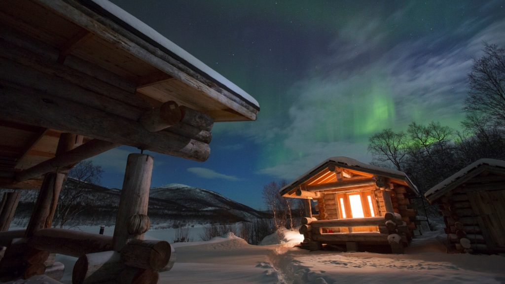 visit luxury Paishill lodge in Utsjoki Lapland Finland
