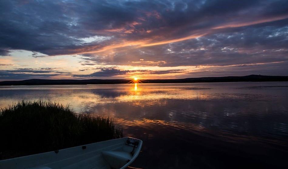 Arctic circle Midnight sun Summer and nightless night By Jasim Sarker