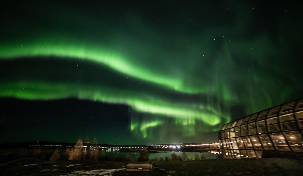 Aurora Borealis in Arktikum- Rovaniemi Arctic centre by Jasim- Visit Lapland