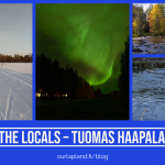 Lapland locals life Finland Ranua travel - arctic guesthouse and igloos Finland