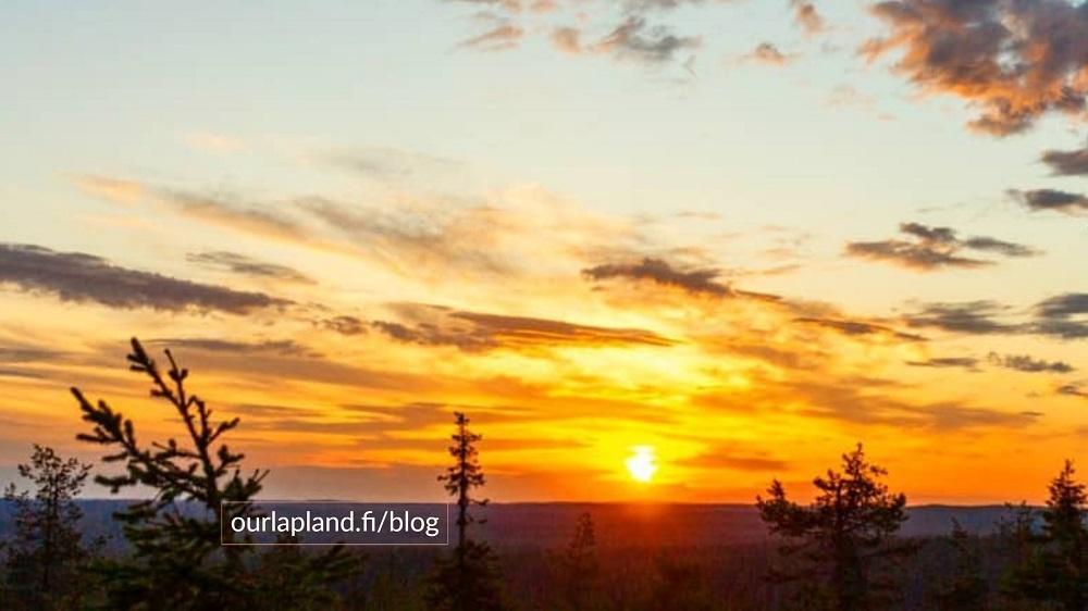 Lapland summer tourism visit Lapland midnight sun Saija Halminen