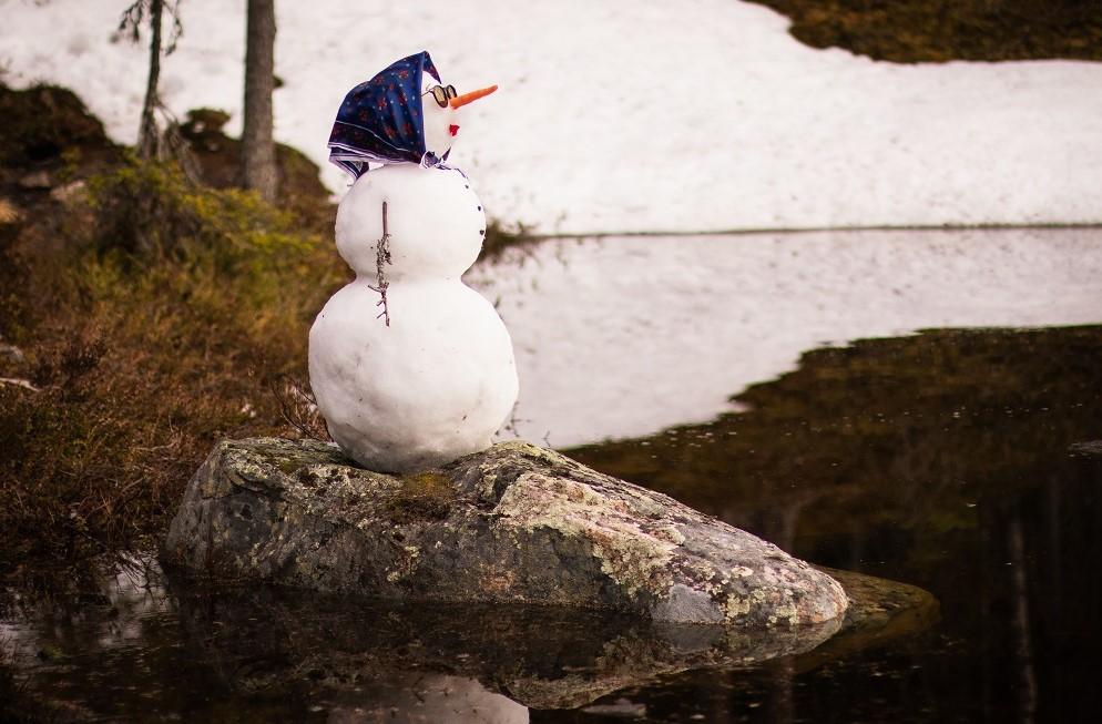 Snowman in June - Lapland blog by Anniina Olkkonen