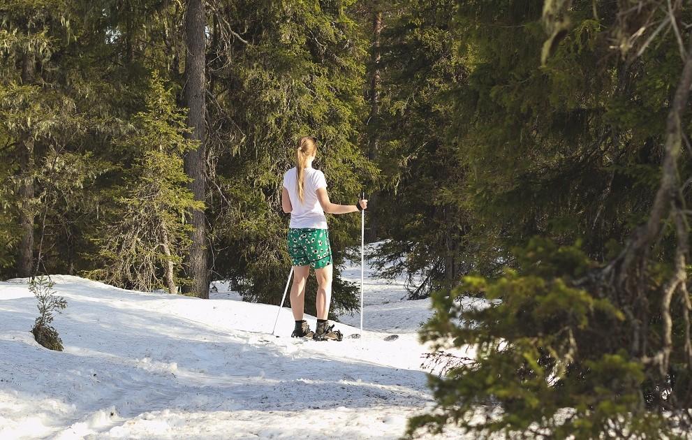 Summer skiing in Salla Lapland blog and still snow - Picture by Anniina Olkkonen