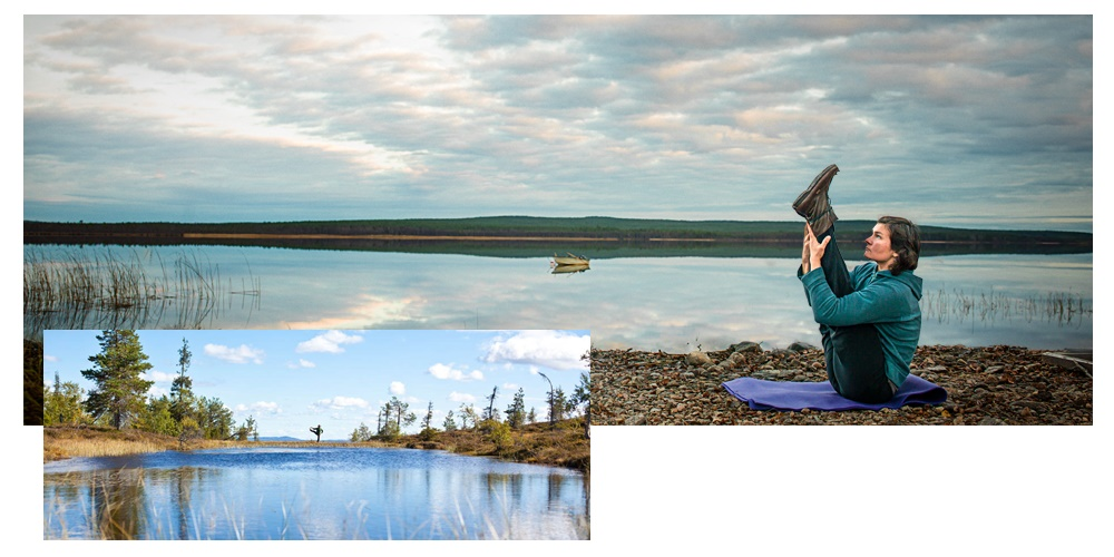 Yoga in Lapland