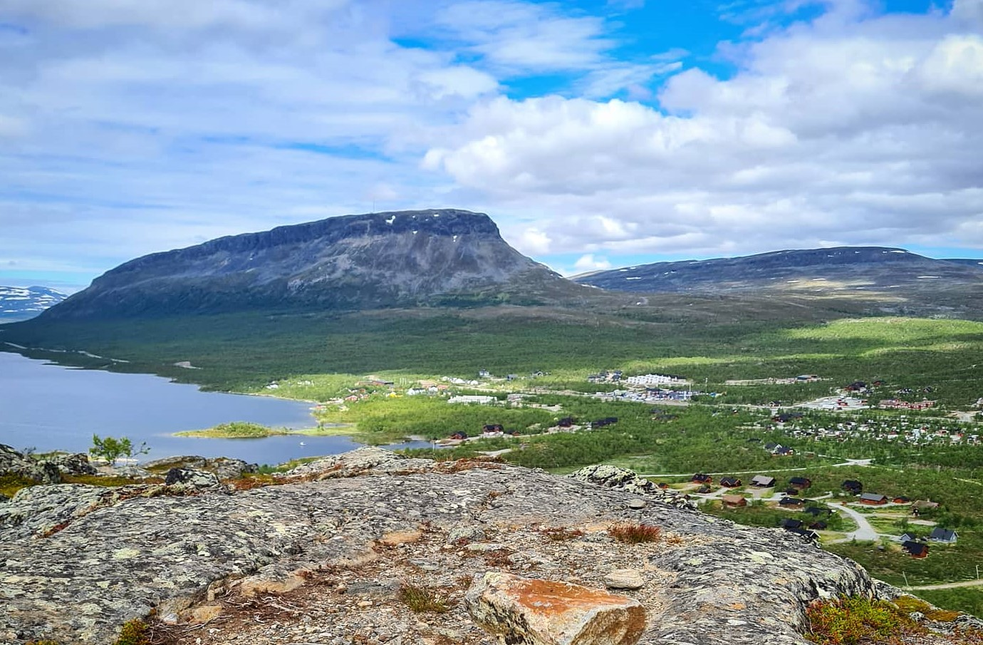 Summer View from Salmivaara Kilpisjärvi- lapland Finland - Blog by Maiju Wallenius