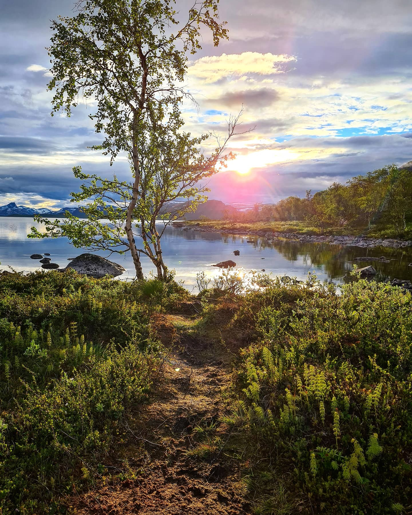 summer and Nightless night in Kilpisjärvi Finnish Lapland by Maiju