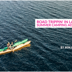 Kayaking in Lake Inari Visit Lapland summer road trip FInland Blog By Ronja