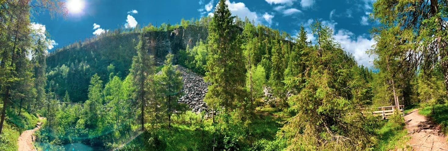 Korouoma canyon in Posio- Lapland Finland Photo by Hennariikka Parviainen