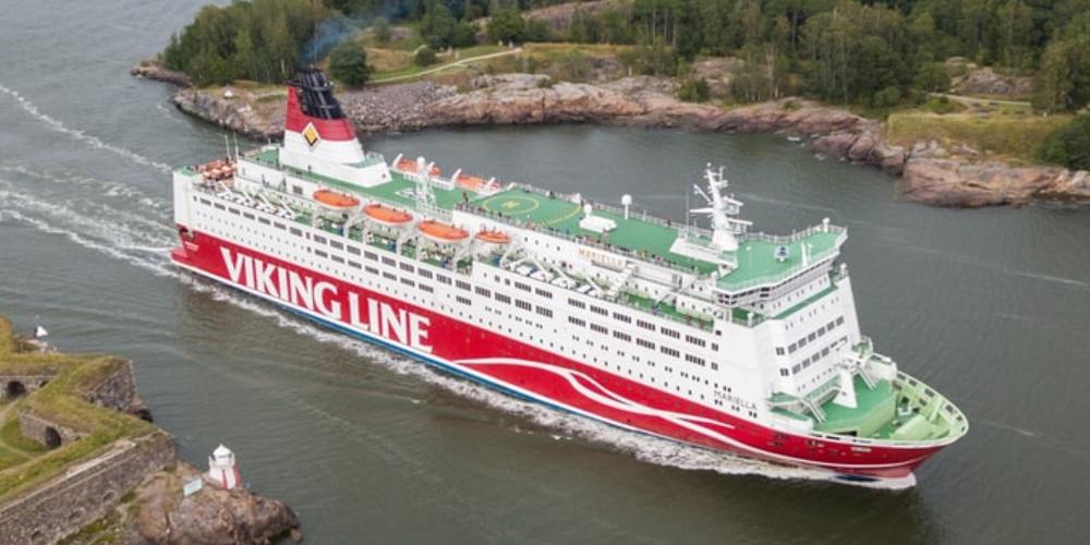 Viking line cruise ship Finland