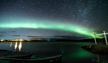 Autumn: Aurora Borealis Picnic