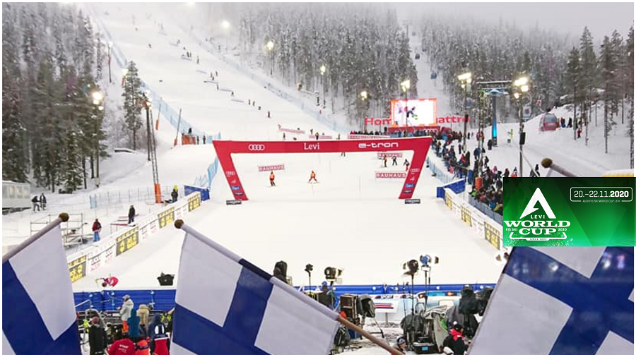 World Cup Levi alpine ski kittilä Lapland 2020