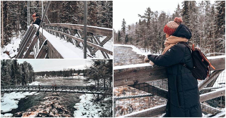 Arctic circle hiking area Rovaniemi Lapland By Ronja Talala