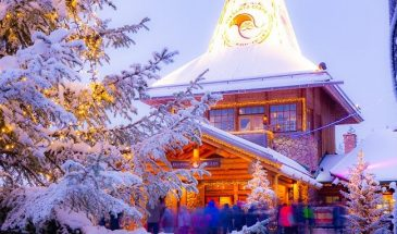 Virtual Tour To Santa Claus Village