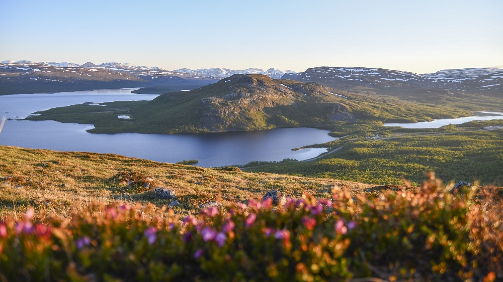 Tips 1 - best time to visit saana mountain Kilpisjärvi Lapland - Picture by Suvi Mansikka