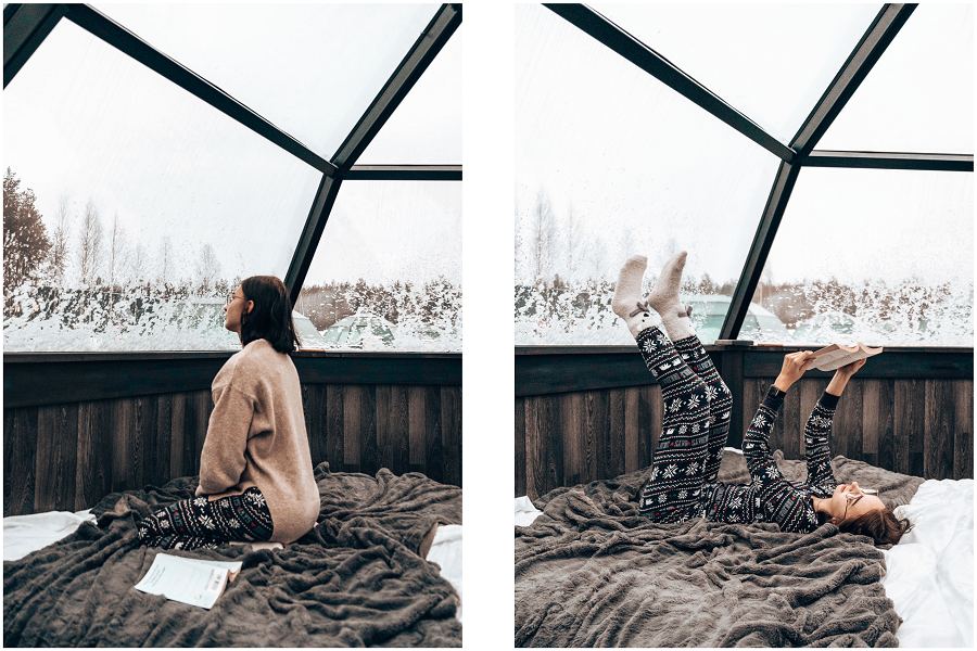 Visit Arctic Snowhotel and Glass Igloos in Rovaniemi Lapland By Ronja Talala